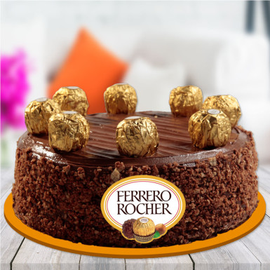 White Chocolate Ferrero Rocher Cake