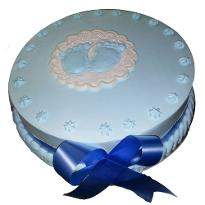 Valentine special vanilla heart shape cake