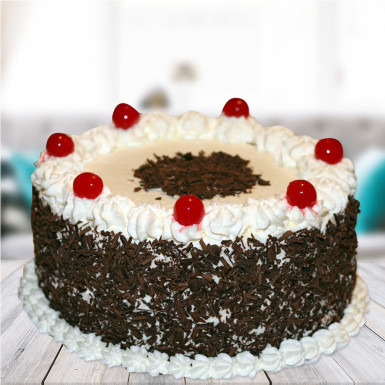 Buy Blossoming love black forest cake