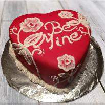 Be mine valentine chocolate cake