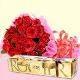 Buy Happy valentines day strawberry cake