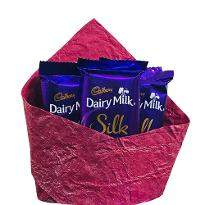 5 Dairy Milk Silk Chocolates