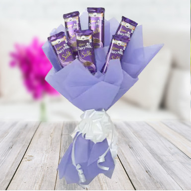 Buy Silk Chocolate Bouquet