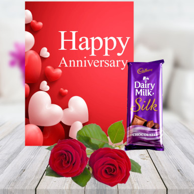 Buy 2 Rose 1 Card 1 Chocolate
