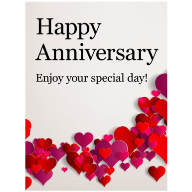 Buy Big Anniversary Greeting Card