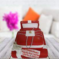 Frozen Allure Cake