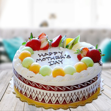 Buy Fruity Delight Mothers Day cake