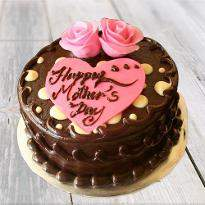 Chocolaty Mothers Day cake