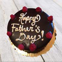 Father day chocolate cake