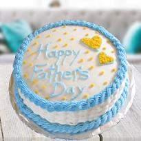 Heartfelt Fathers day cake