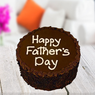 Buy For chocoholic dad Father day cake