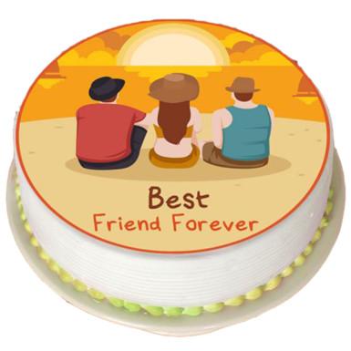 Buy Dashing cake for dashing friend
