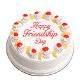 Buy Friendship day pineapple cake