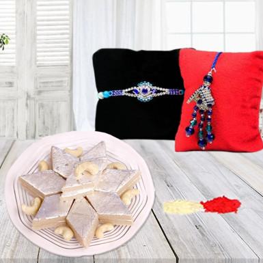 Buy Divine Rakhi celebration