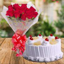 1 Online Cake And Flower Delivery In Bangalore Order Send Now