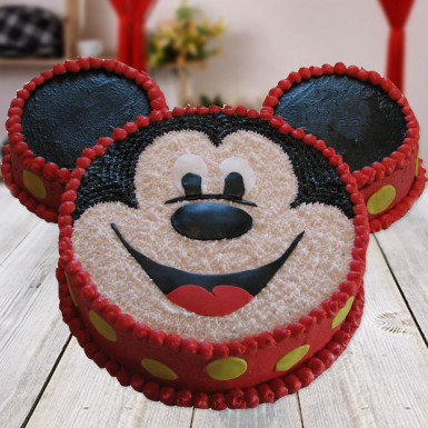 Buy Mickey Mouse Shape Cake