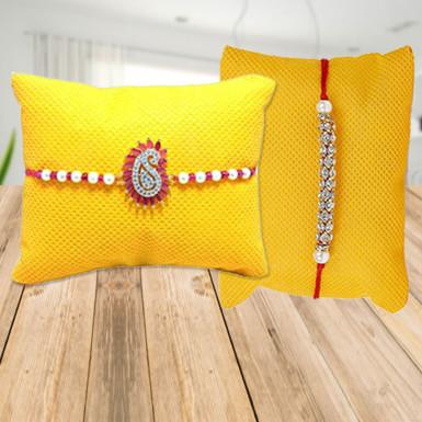 Buy Glistening Rakhi