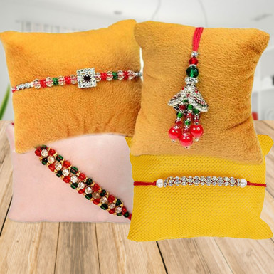 Buy Traditional Touch Rakhi