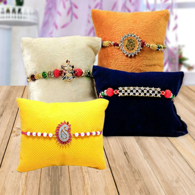 Buy Colourful Rakhi