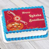 Rakhi Photo Cake
