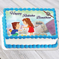 Photo Cake for Rakhi