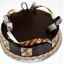 Black forest Rakhi Photo Cake