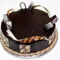 Black forest Rakhi Photo Cake