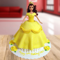 Chocolate Barbie Cake