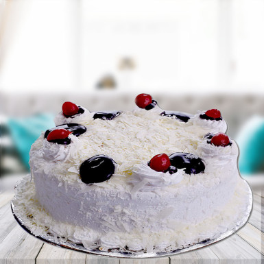 Buy Incredible White Forest Cake