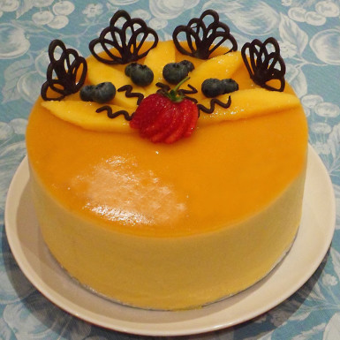 Buy Tempting Mango Cake