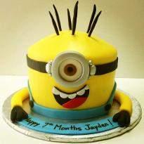 Naughty Minion Cake