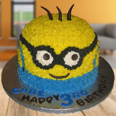 Buy Rock with Minion Cake
