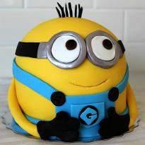 Mischievous Minion Cake