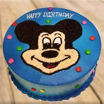 Clever Mickey Mouse Cake