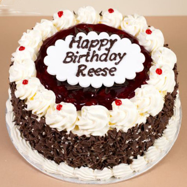 Buy Black Forest Birthday Cake