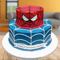 Heroic Spiderman Cake