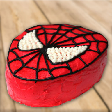 Buy Luscious Spiderman Cake