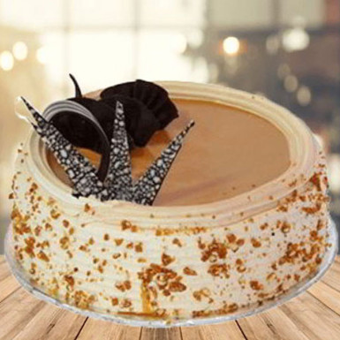 Buy Butterscotch Birthday Cake