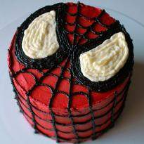 Spider Man Cream Cake
