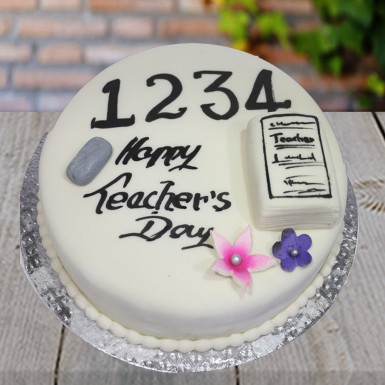 Buy Fondant Cake for Teacher