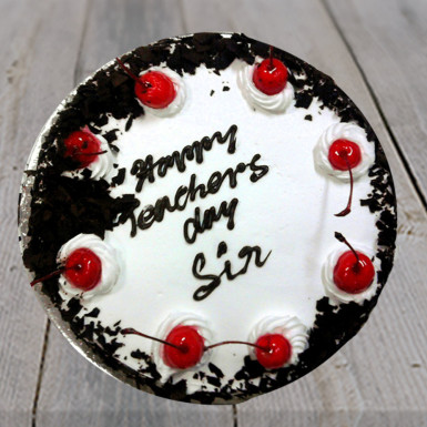 Buy Teacher Day Black Forest Cake