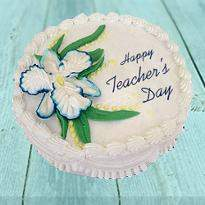 Teacher Day Pineapple Cake