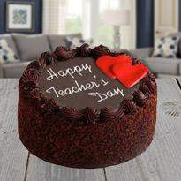 Teacher Day Chocolate Cake