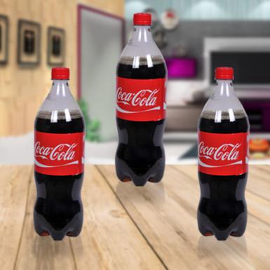 Buy 3 1ltr Coke Bottles