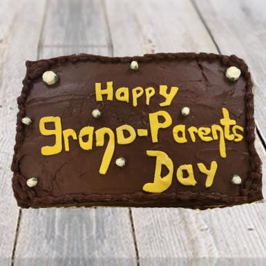 Buy Grandparents Day Chocolate Cake