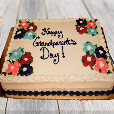 Buy Vanilla Cake for Grandparents Day