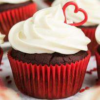 4 Scrumptious red velvet Cupcake
