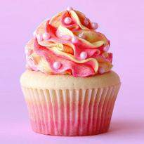 4 Luscious Colorful Cupcake