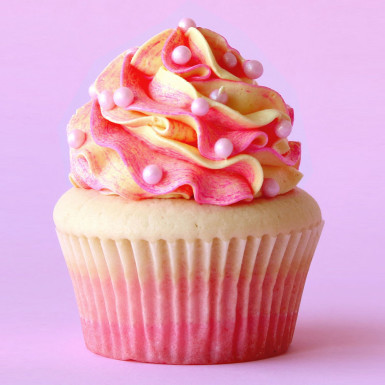 Buy 4 Luscious Colorful Cupcake