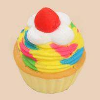 4 Colorful Cupcake